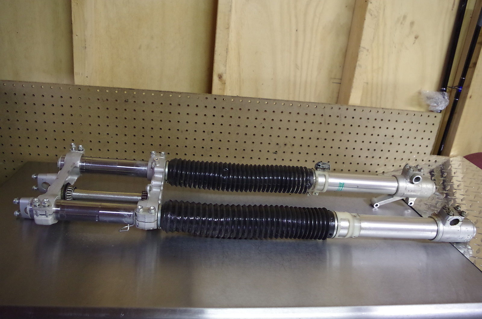 XR400R Fork Swap   XR250R MODS