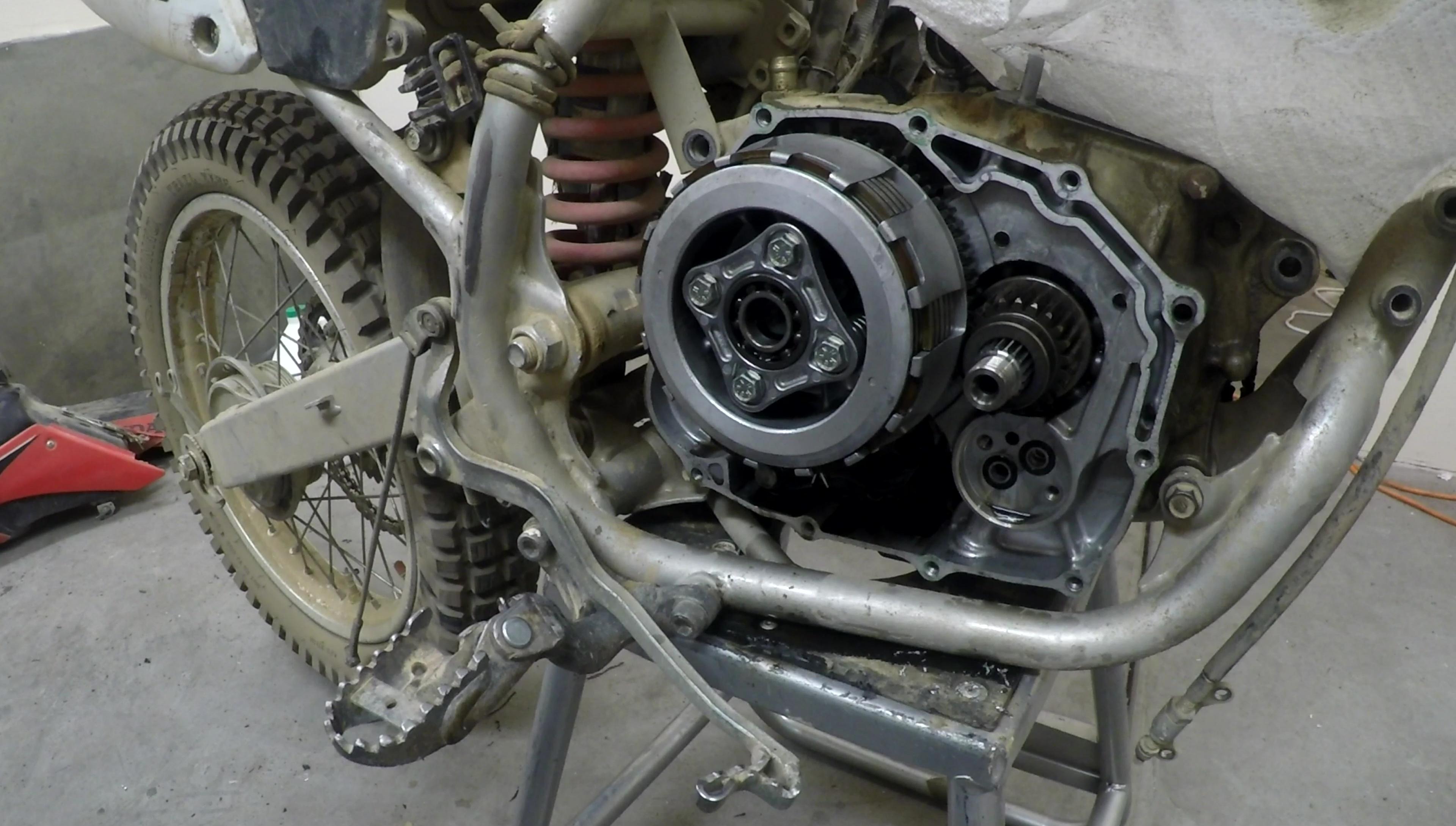 Increasing Clutch Grip | XR250R MODS