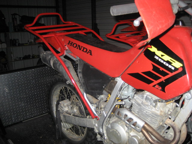 Luggage and Racks   XR250R MODS